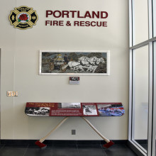 Portland Fire & Rescue Lobby