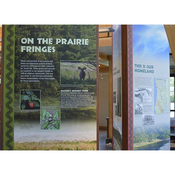 Yurok County Visitor Center_Prairie