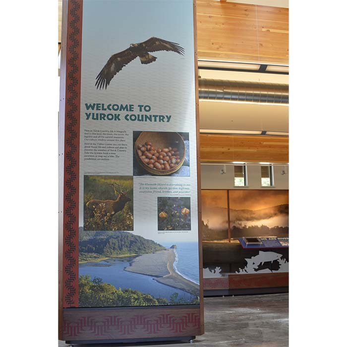 Yurok County Visitor Center_Welcome