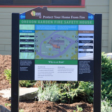 Oregon Garden Fire Safety House